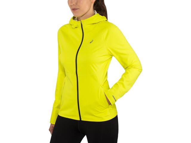 asics Accelerate Jacket Damen lemon spark
